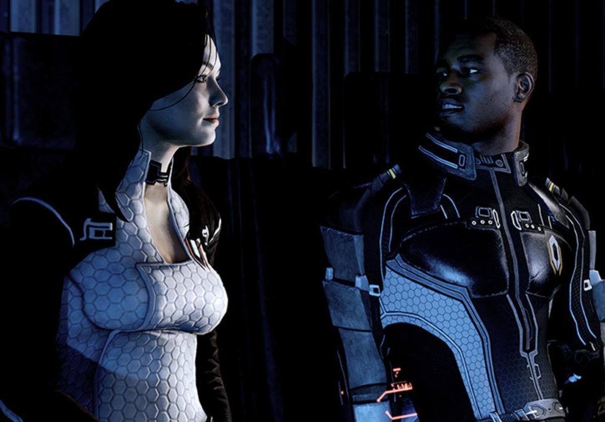 Jacob and Miranda interrogate Shepard.