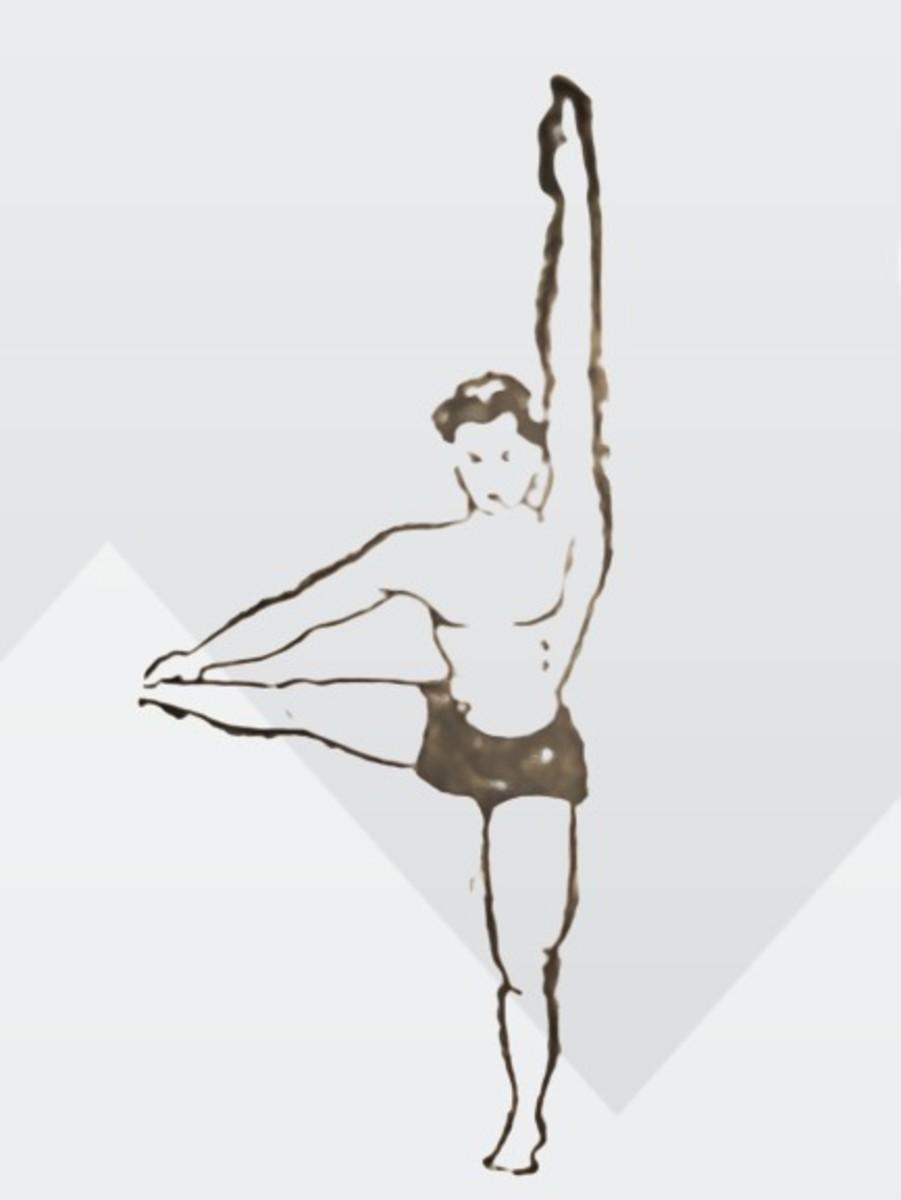 posture of trigoasana