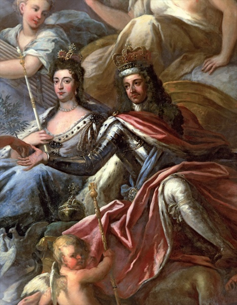 Portrait of William and Mary