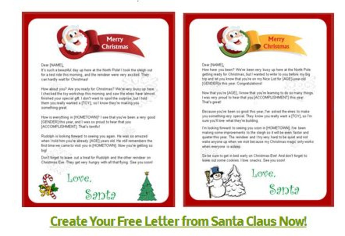 santa letters free free printable letters from santa hubpages 24724