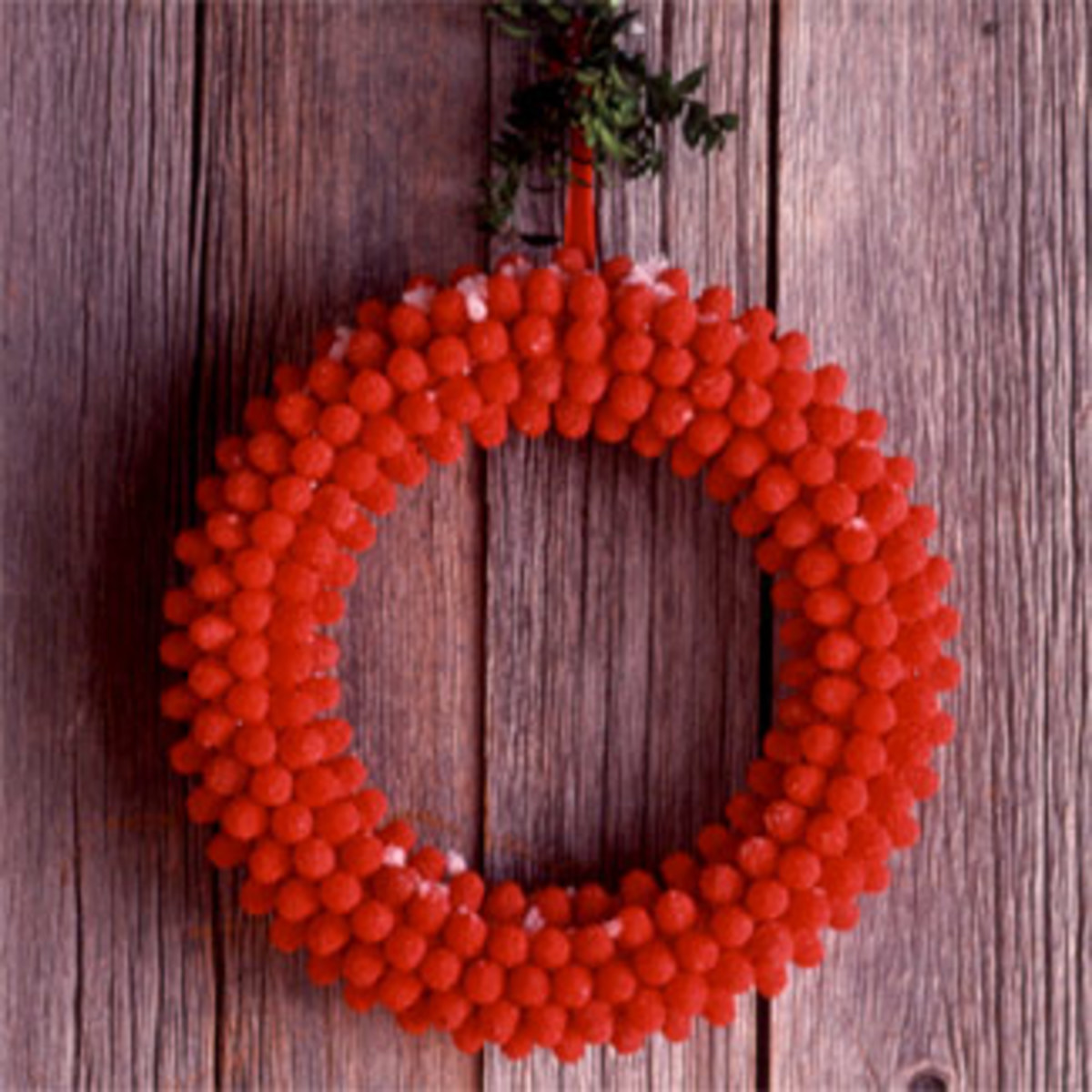 Candy Christmas Wreath goodhousekeeping.com