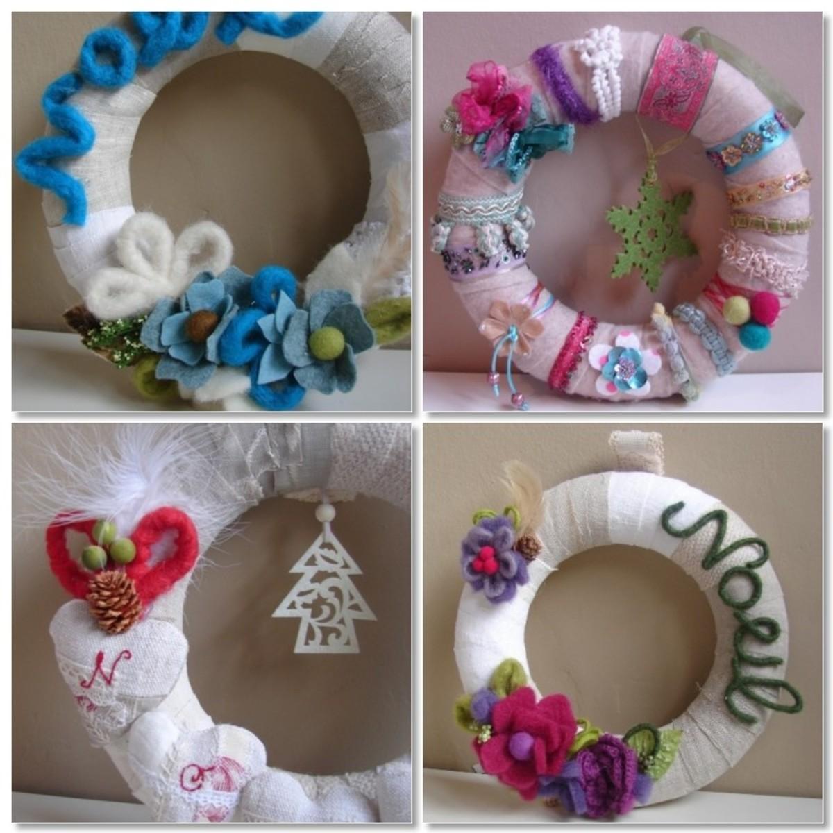 Unique Christmas Wreath Ideas