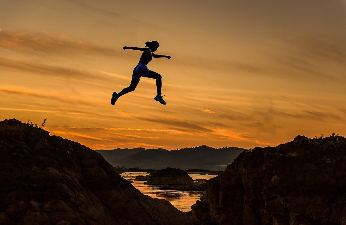 We've Got to Take Many Small Leaps of Faith -- to Practice for That Time When We'll have to Take a Big One