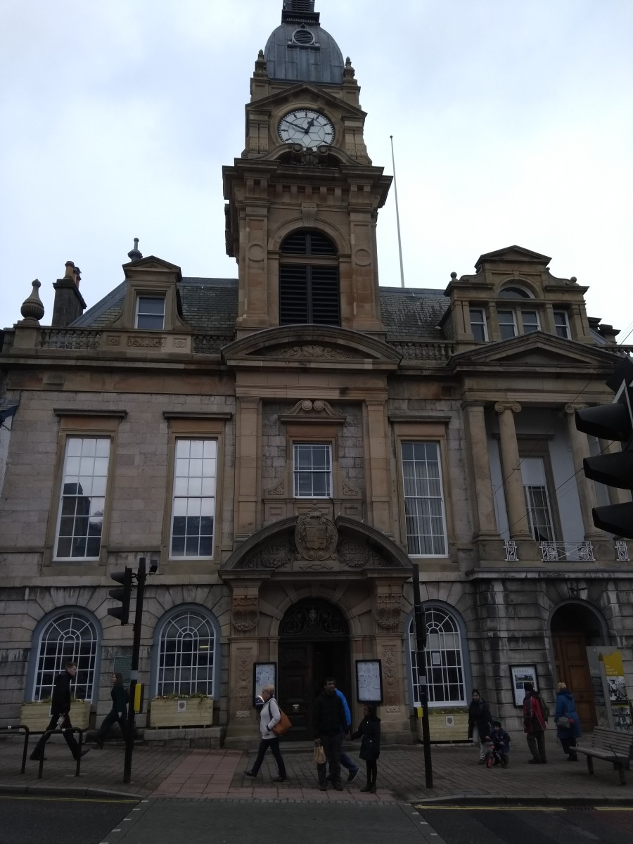 Shepdale Town Hall where Winster was Mayor for 3 years