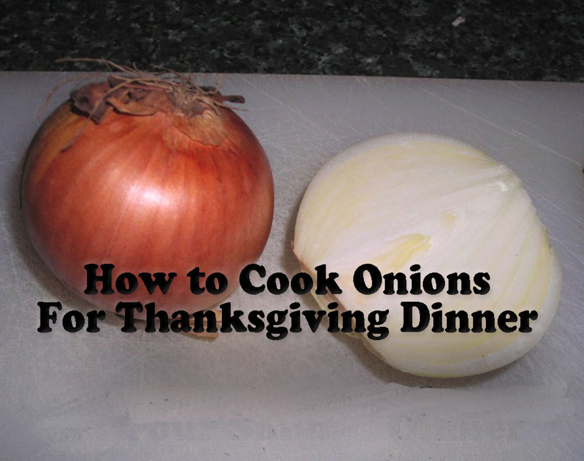 Learn How to Cook Onions for Thanksgiving Dinner