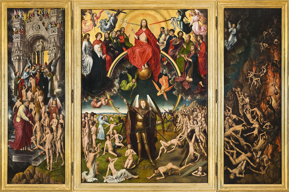 Hans Memling's  'The Last Judgement'