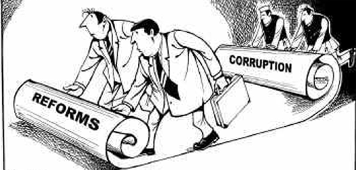 Political Disorder Feeds Corruption