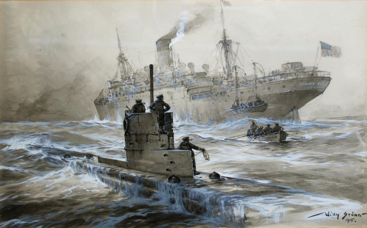 The Wolf Packs: Unrestricted Submarine Warfare