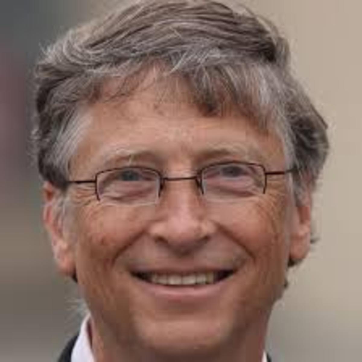 Bill Gates, developer of Microsoft. Successful introversion at work.