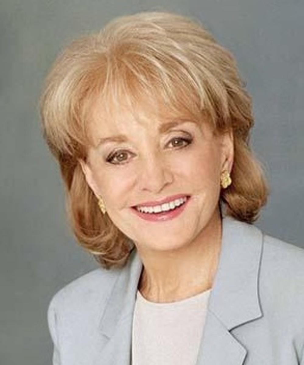 Barbra Walters News Anchor