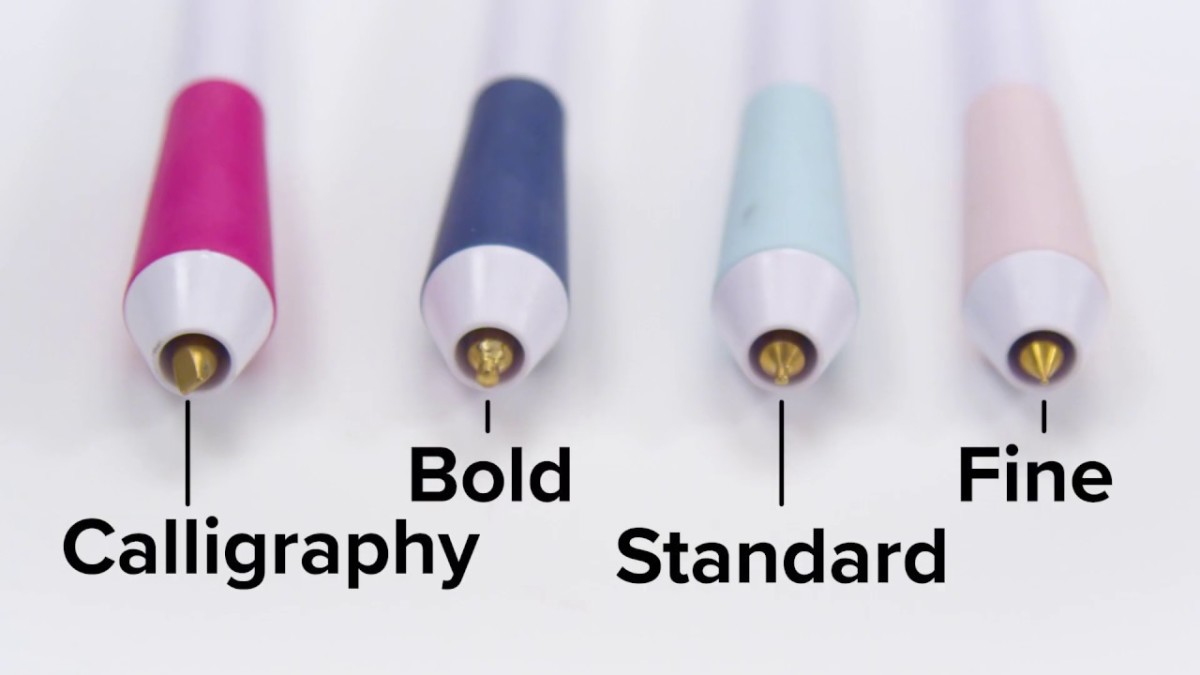 These are the Free Style Foil Quill Pens that aaaaare available