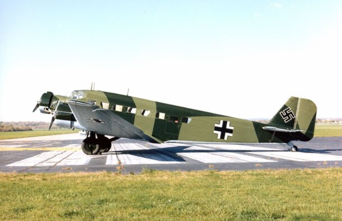 JU 52 on display at USAF museum