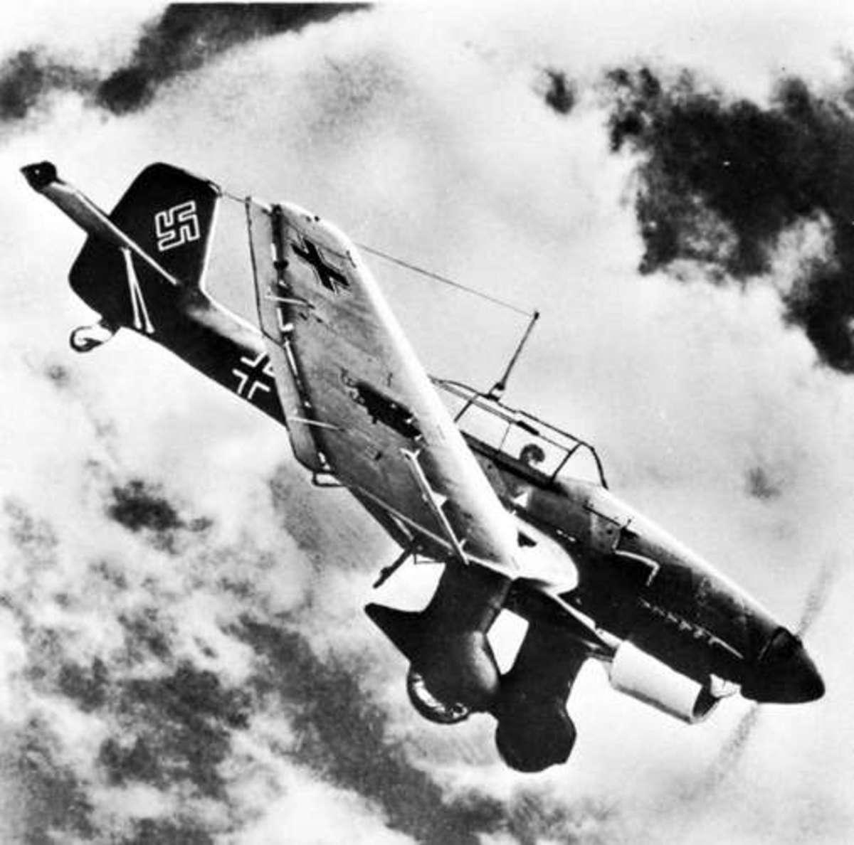 The Stuka Dive bomber