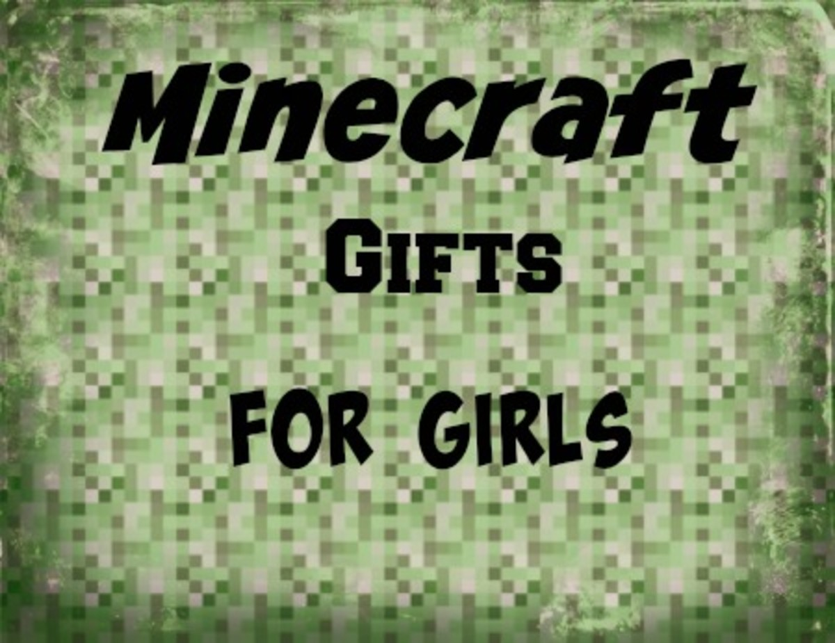 Minecraft Gifts for Girls
