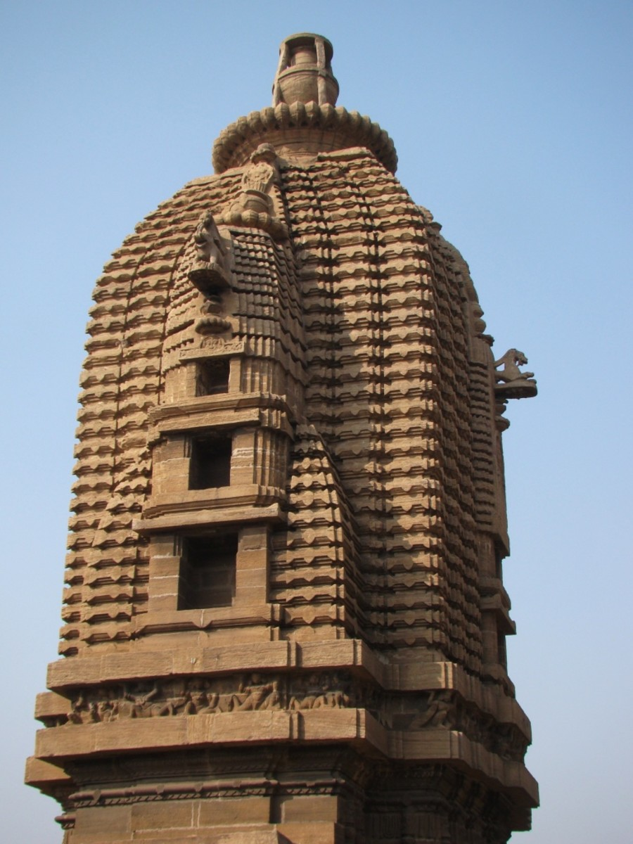 The pinnacle of temple no. 2