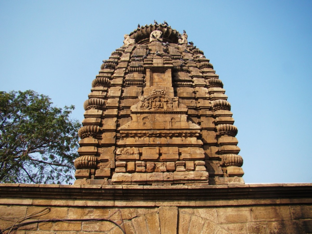 The pinnacle of temple no. 4