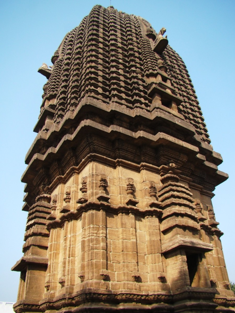 The pinnacle of the temple no. 3