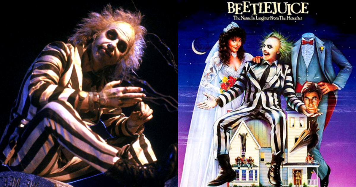 Beetlejuice (1988) Film Review