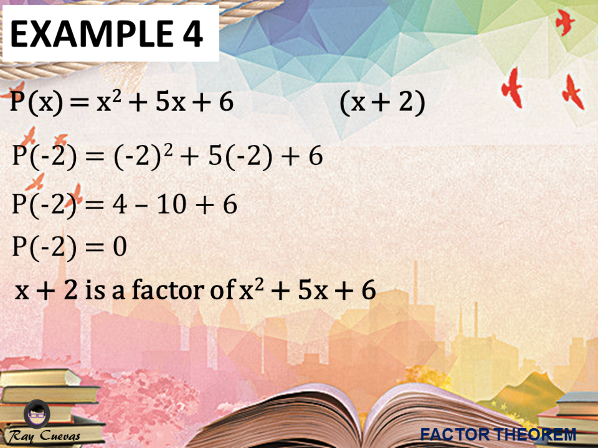 Example 4: Proving an Equation Is a Factor of a Quadratic Equation