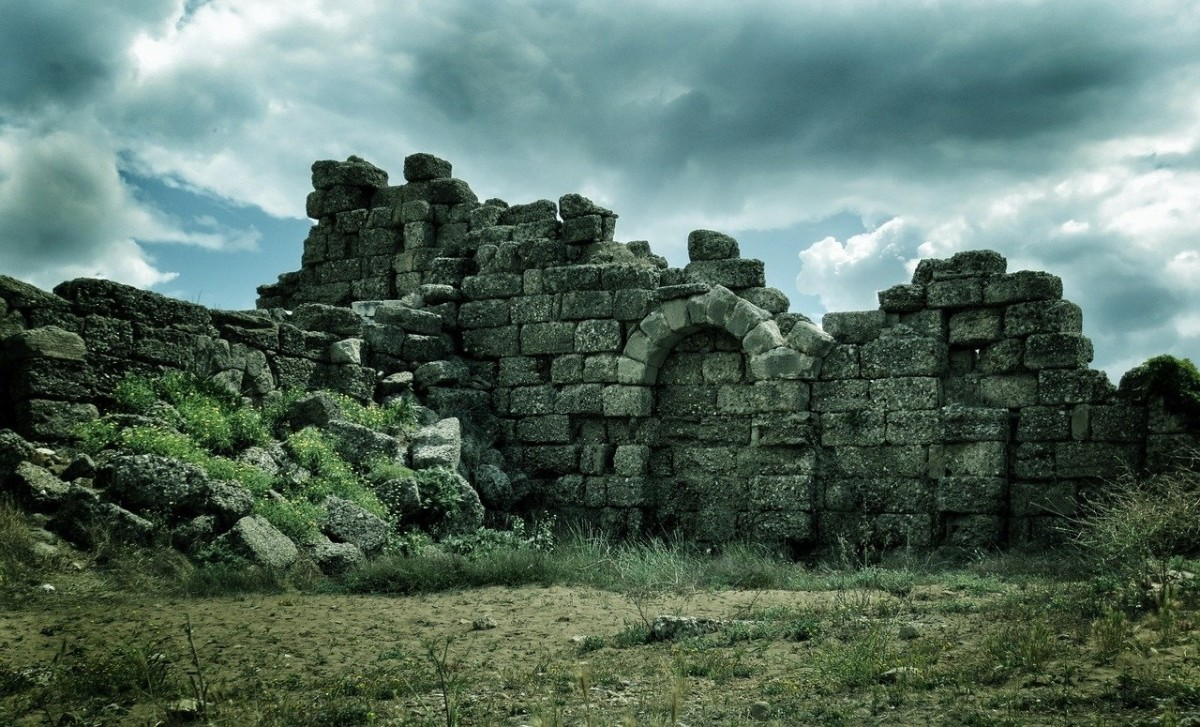 Ruin in Turkey.