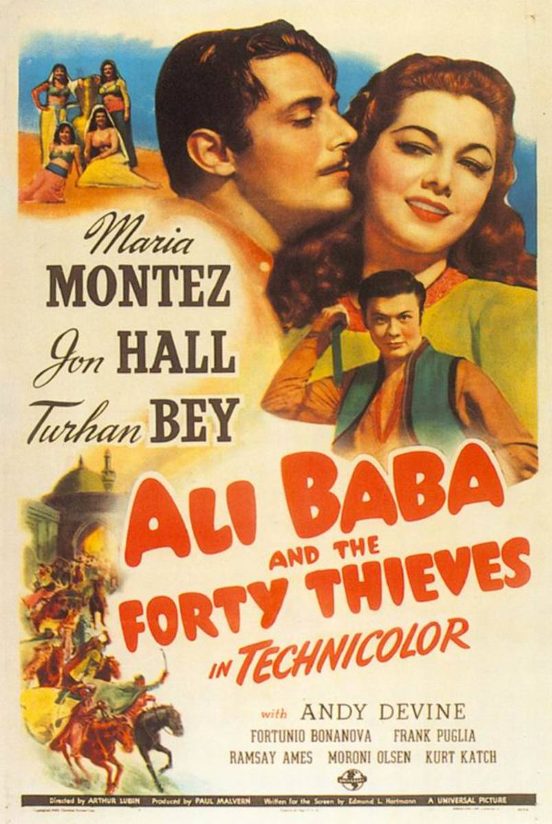 Ali Baba and the 40 Thieves (1944)