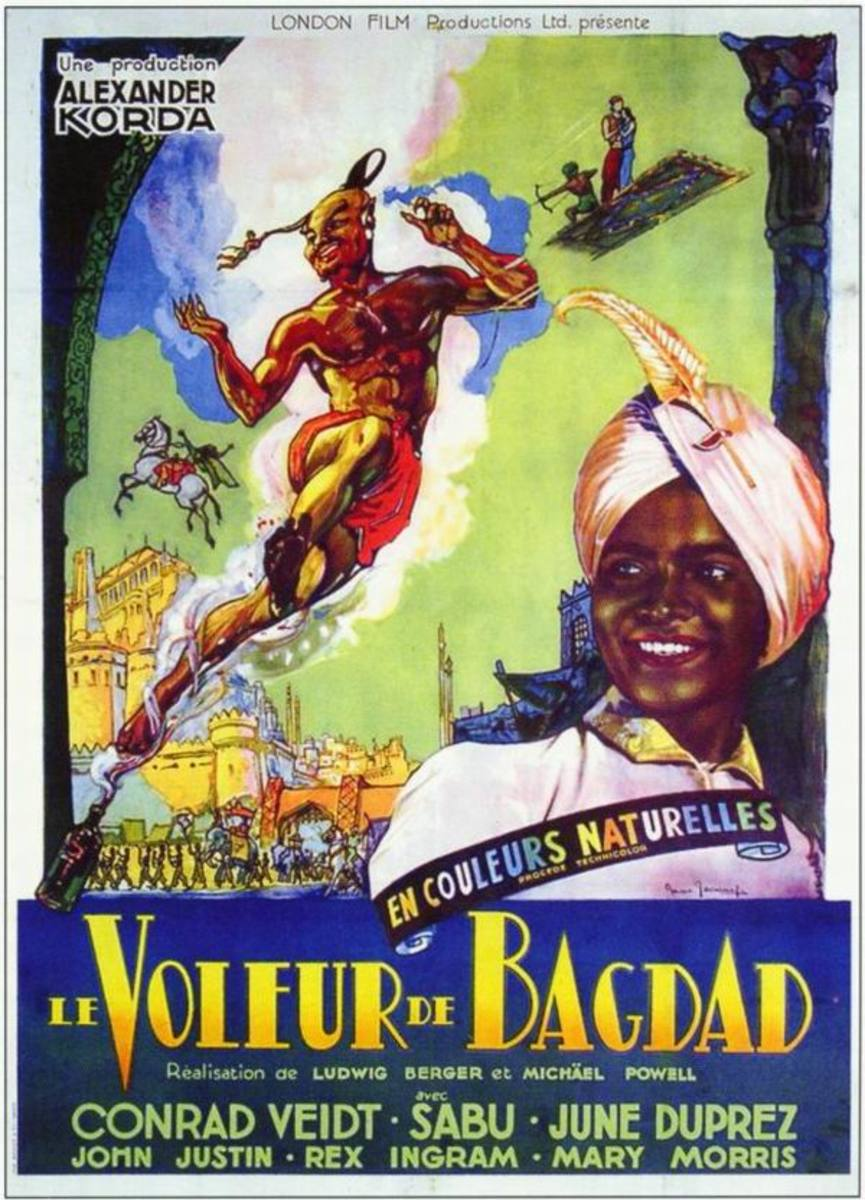 The Thief of Baghdad (1940) French poster