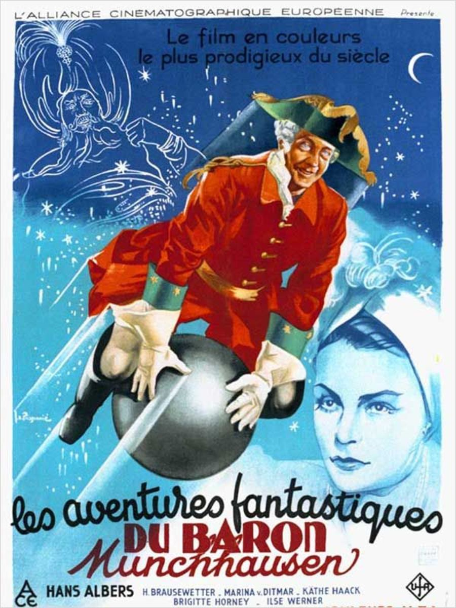 Munchausen (1943) French poster