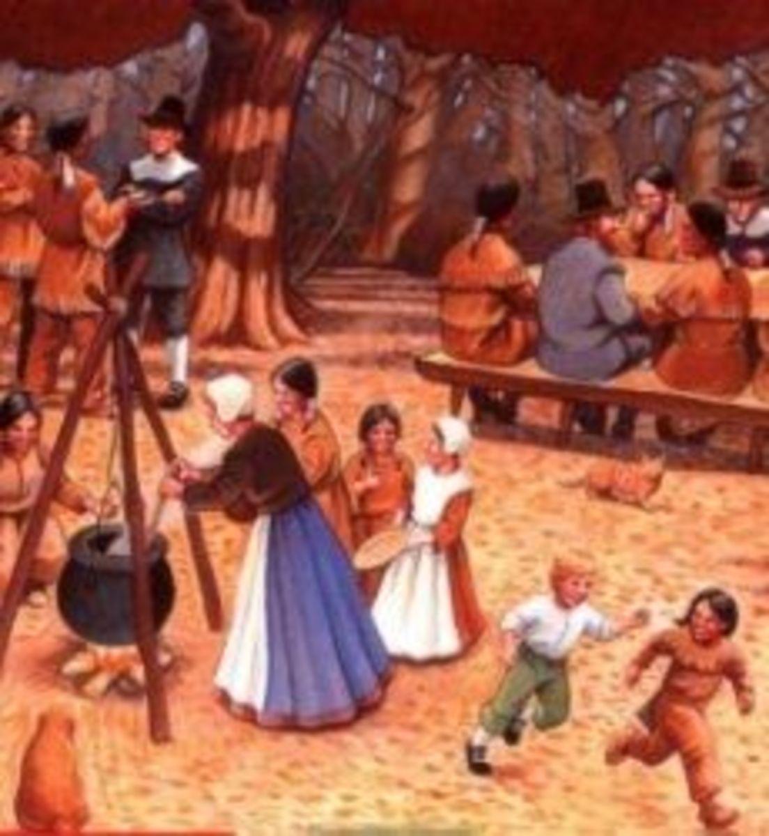 Pilgrim's First Thanksgiving Book