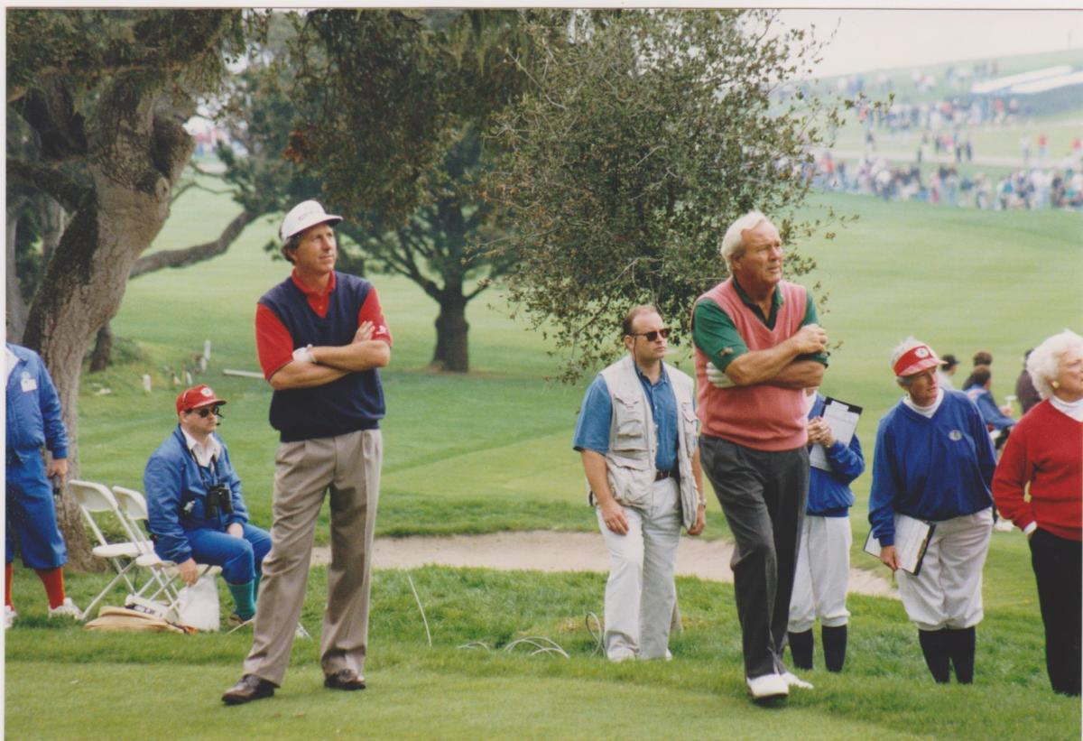 Arnold Palmer and Hale Irwin