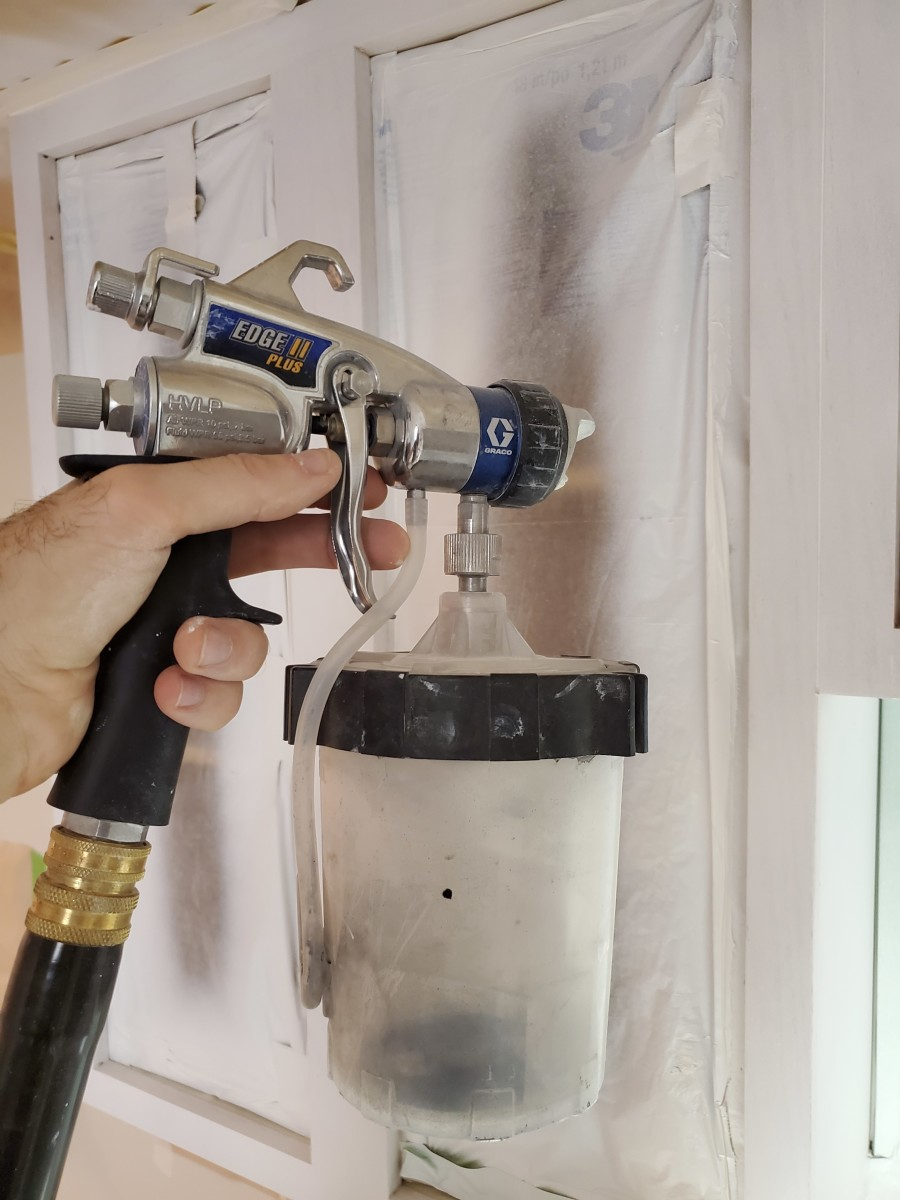 The Graco Edge II Plus spray gun.