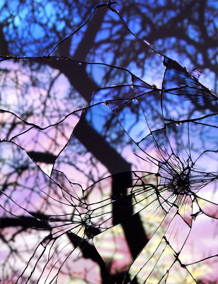 Shattered Pieces All Over, after Granny's Passing