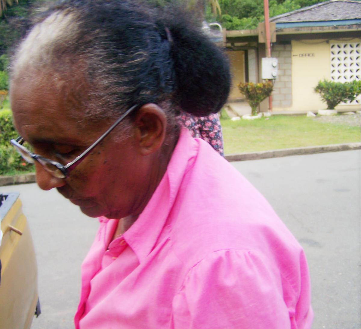 Granny in Tobago 2009
