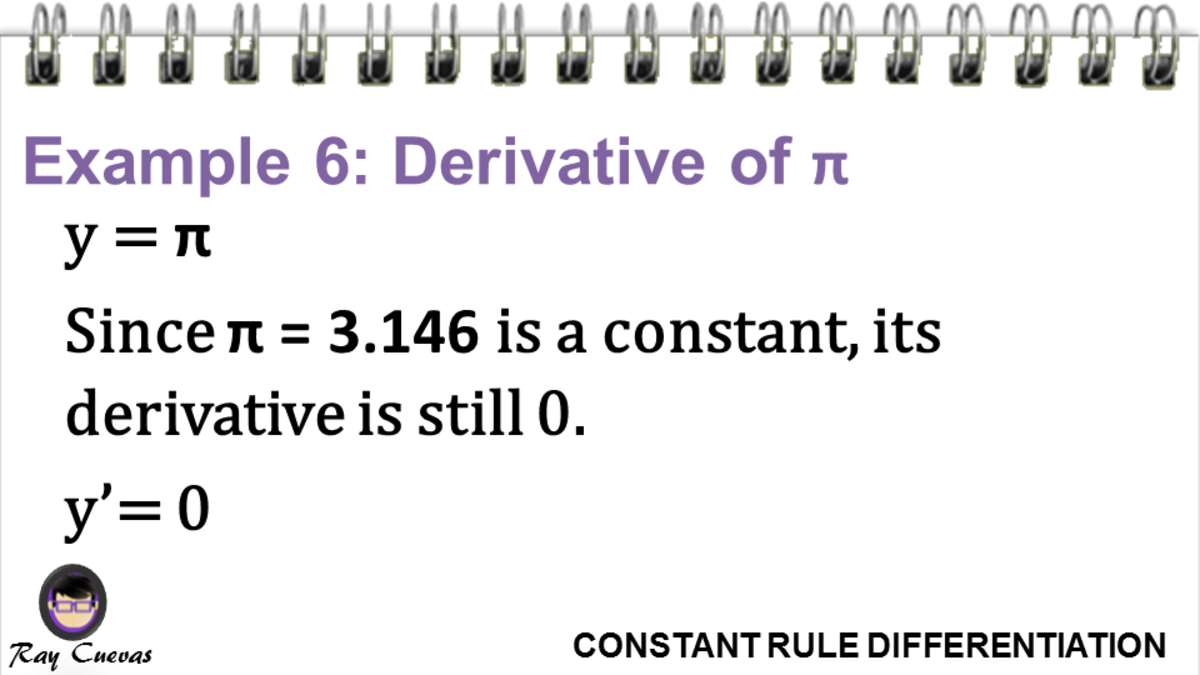 Example 6: Derivative of Pi