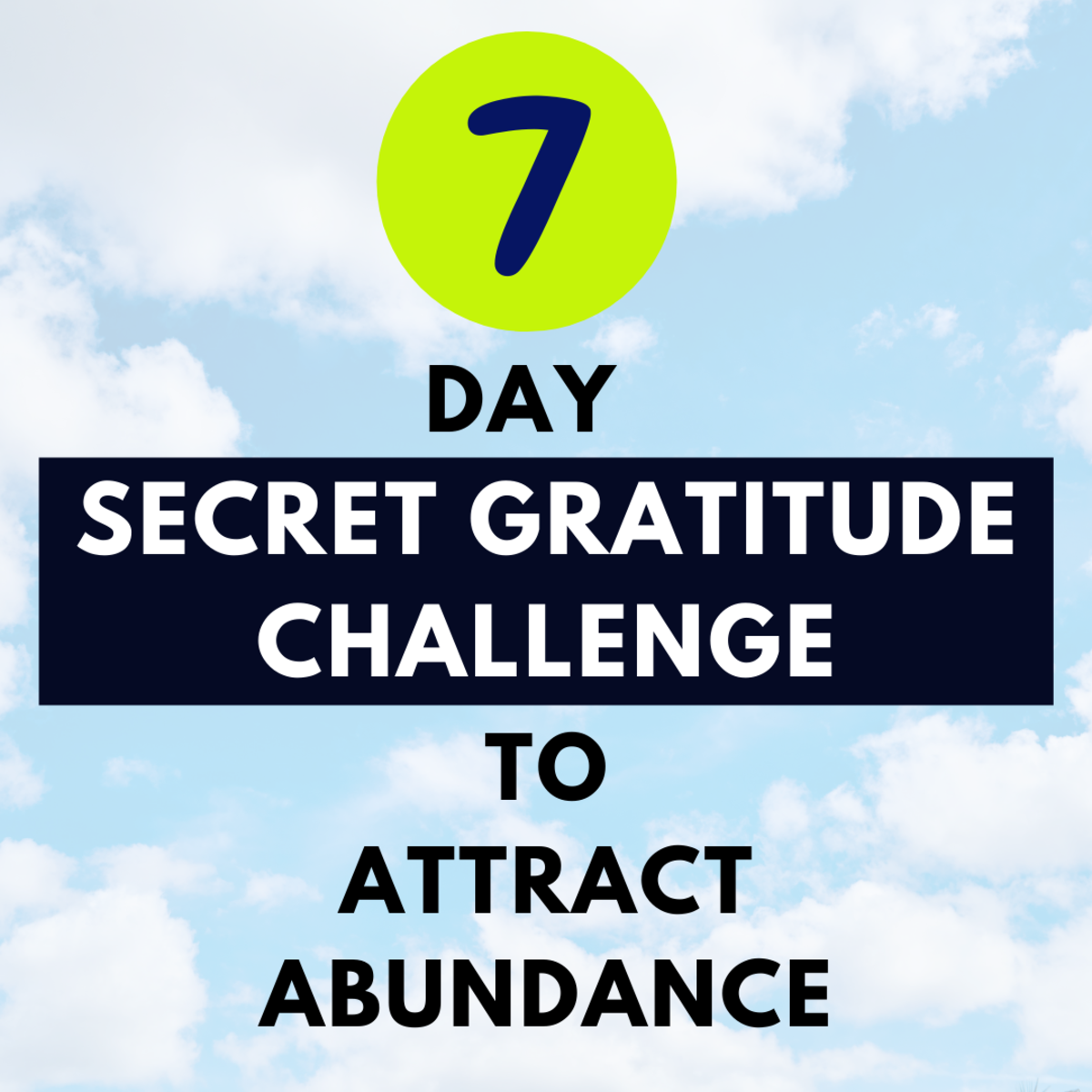 How to practice gratitude daily to attract abundance