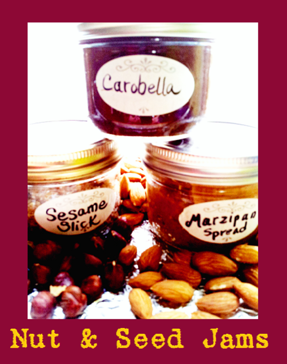 Delicious Nut and Seed Jams you can make healthier and cheaper yourself!