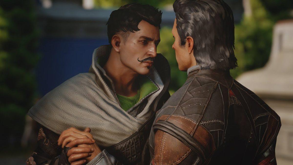 Dorian being unapologetically gay.