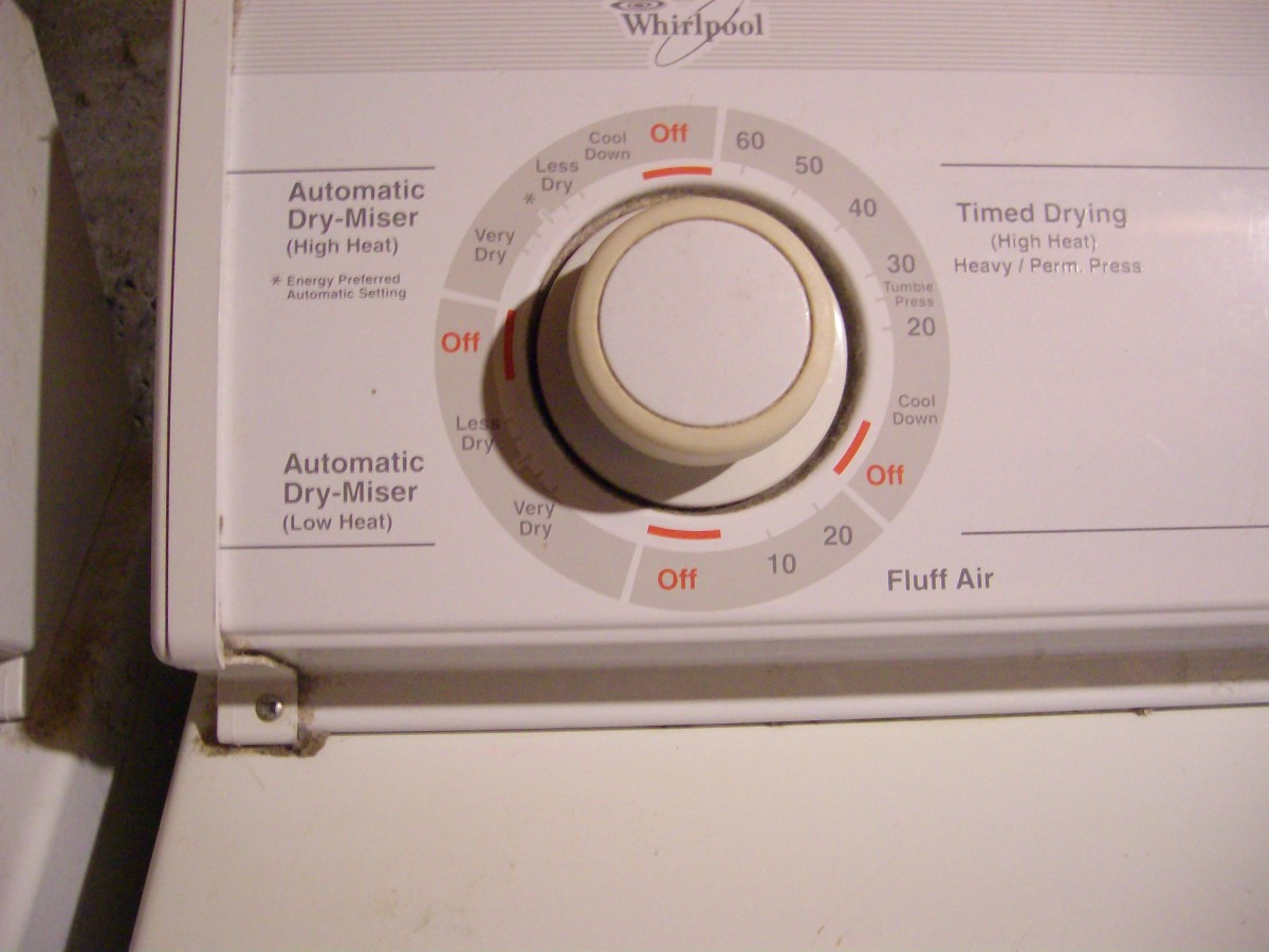 Noisy Clothes Dryer Noise Repair