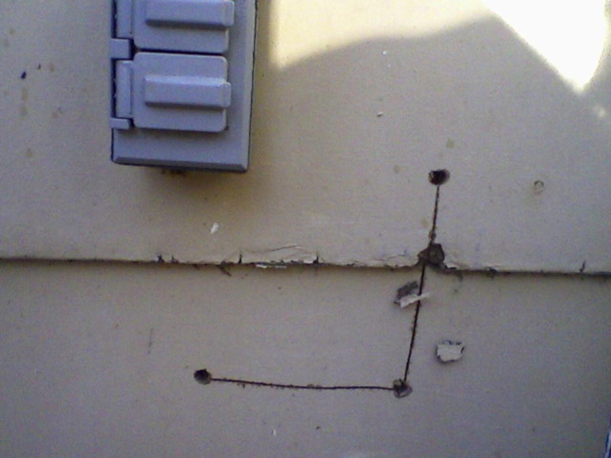 electrical siding box pet doors how not to install them dengarden