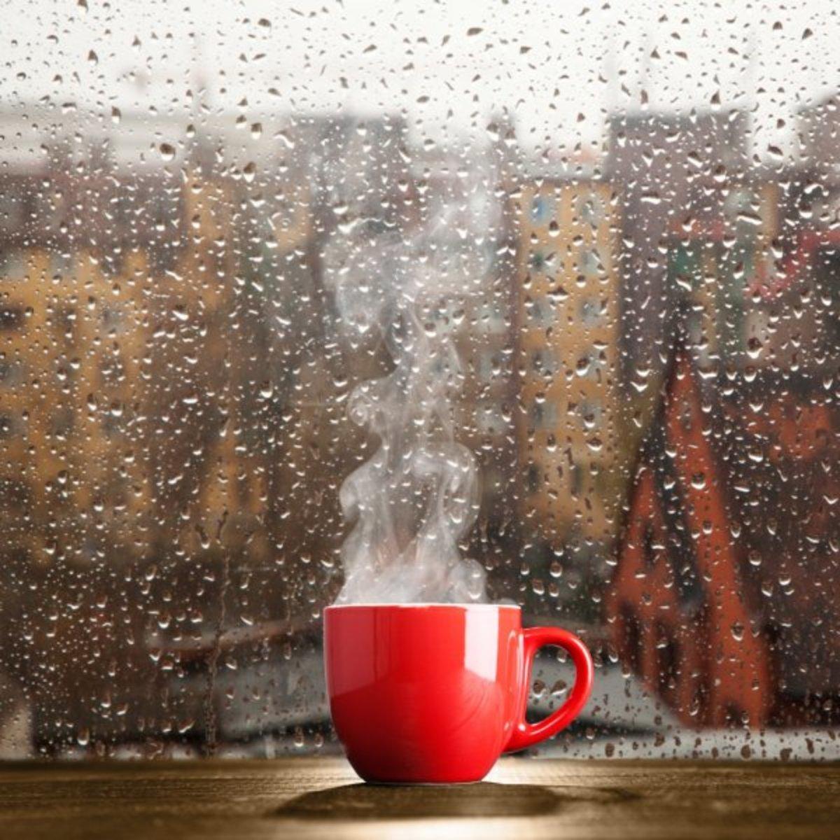 Just beside the lovely rain