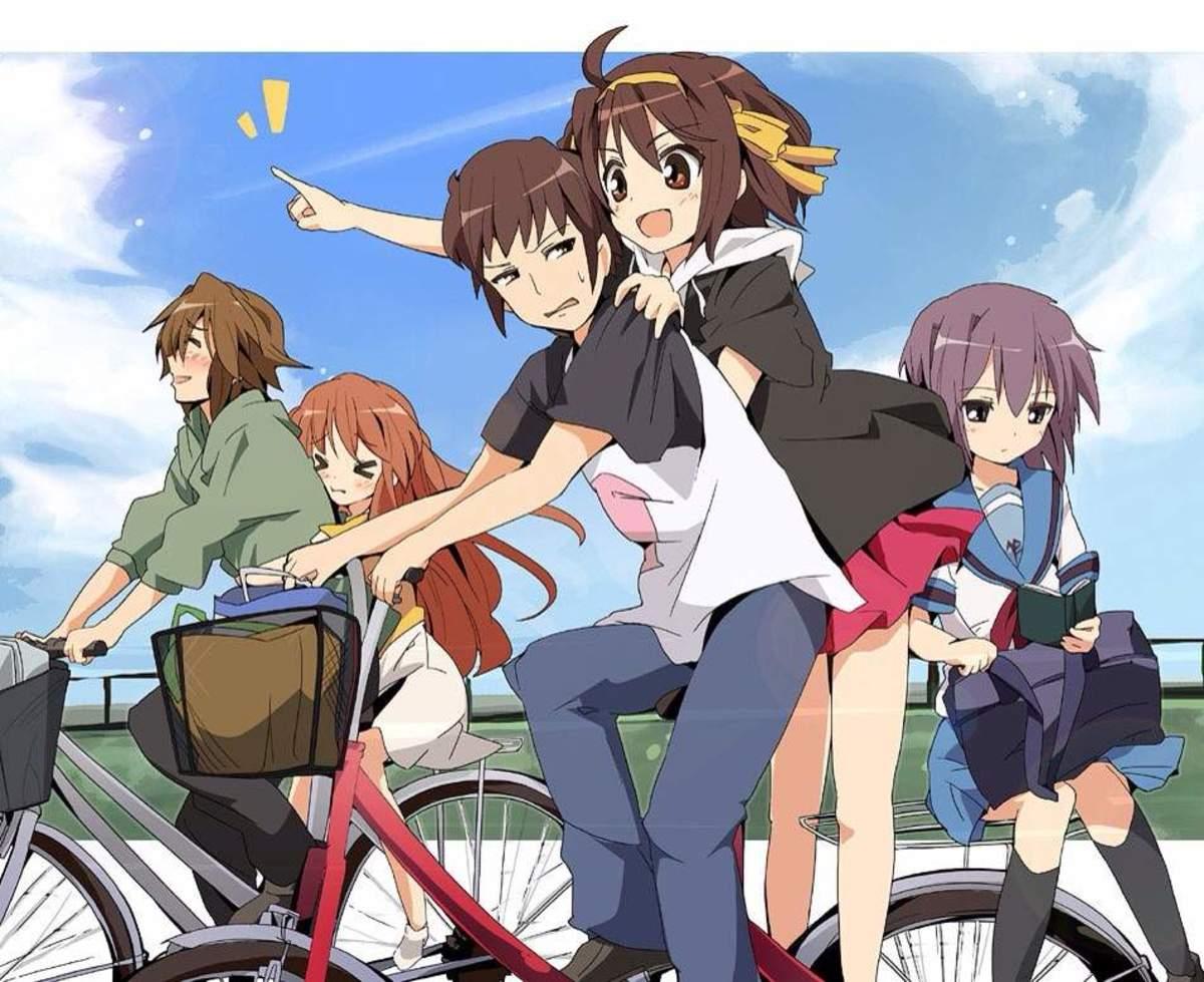 10 Anime Like Suzumiya Haruhi No Yuuutsu (The Melancholy of Haruhi Suzumiya)