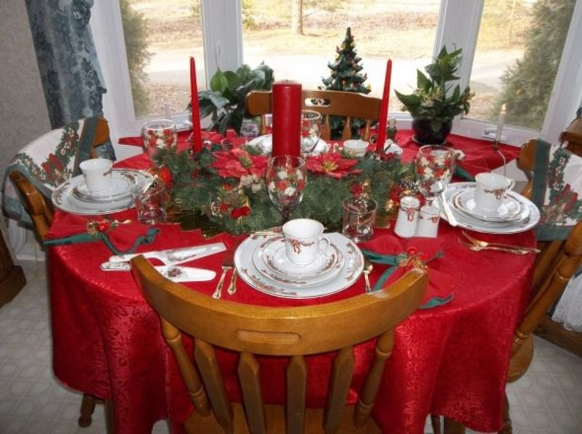 Photo by Favored1 of Ann's Christmas Table