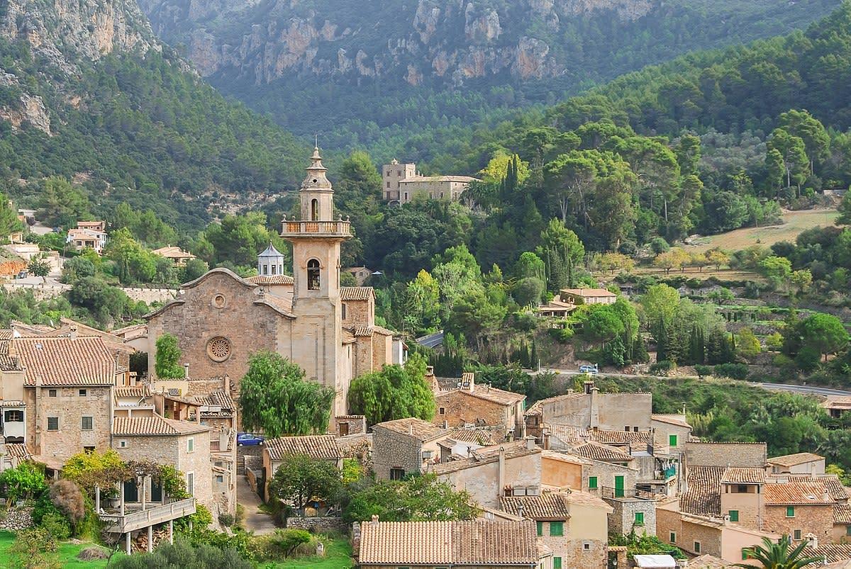 Valldemossa village in Mallorca, Spain