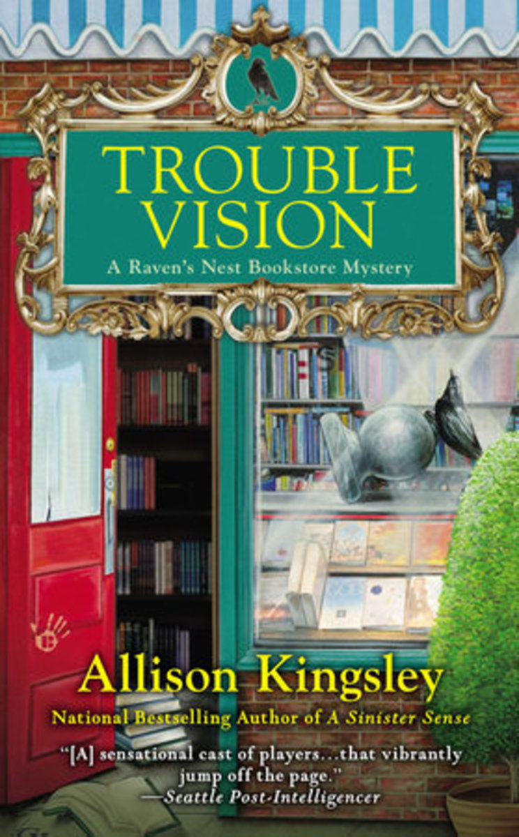 Book Review: Trouble Vision by Allison Kingsley