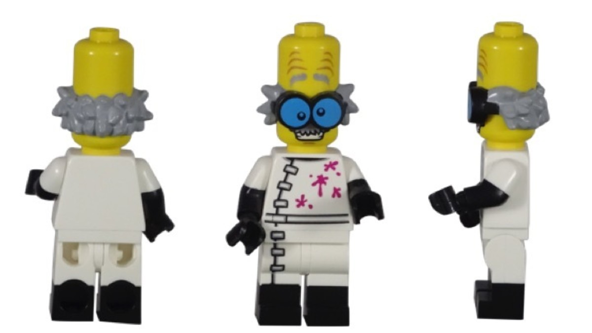 LEGO Monster Scientist Minifigure 71010-3
