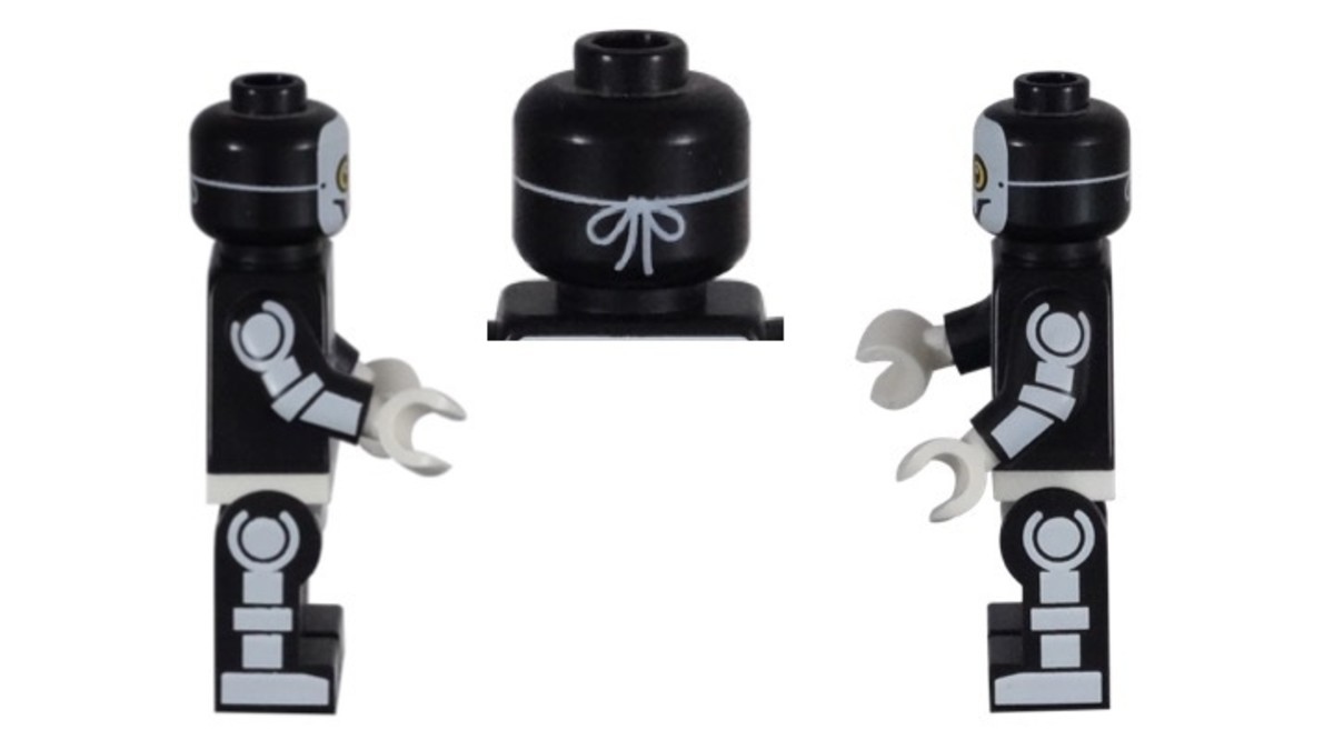 LEGO Skeleton Guy Minifigure Side Printing
