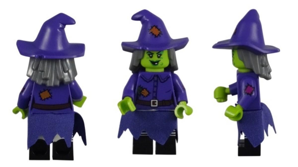 LEGO Wacky Witch Minifigure 71010-4