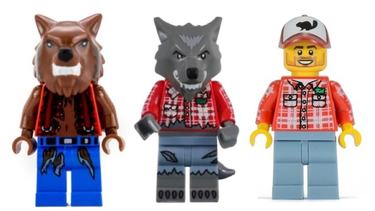 LEGO Werewolf Minifigures