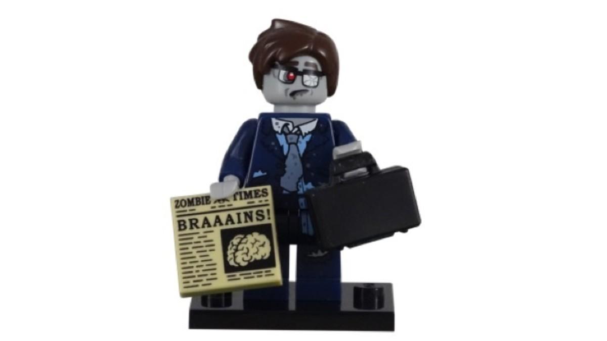 LEGO Minifigure Series 14 Zombie Businessman
