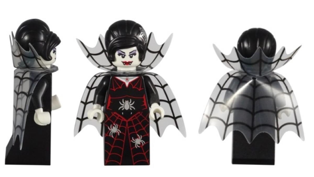 LEGO Spider Lady Minifigure 71010-16
