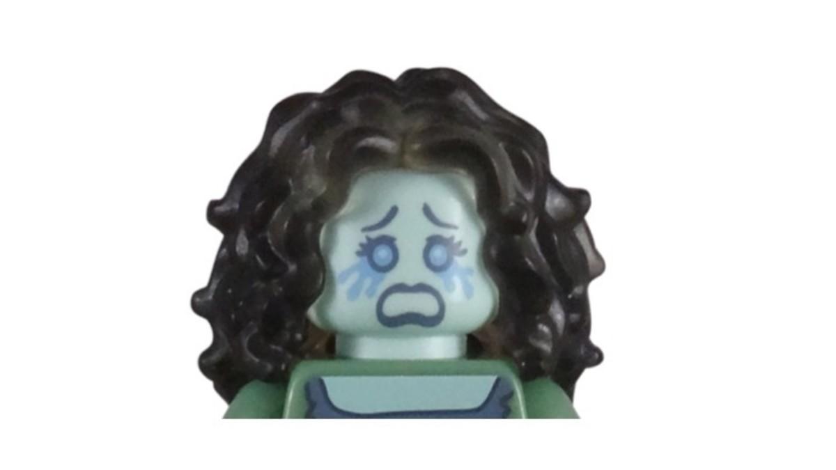 LEGO Banshee Minifigure Head